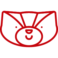 Happy Badger Icon