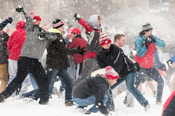 """Students engage in""""Battle for Bascom"""""""