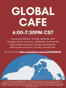 Global Cafe virtual event