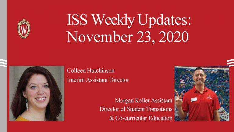 ISS Weekly Updates video for the week of November 23rd